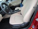 2017 Hyundai Sonata SE Beige Interior