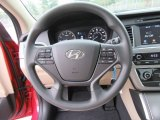 2017 Hyundai Sonata SE Steering Wheel