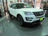 2017 White Platinum Ford Explorer XLT #116486935