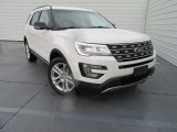2017 White Platinum Ford Explorer XLT #116486934
