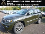 2017 Recon Green Jeep Grand Cherokee Limited 75th Annivesary Edition 4x4 #116486833