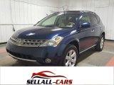 2007 Midnight Blue Pearl Nissan Murano SL AWD #116486739