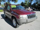 2002 Dark Garnet Red Pearlcoat Jeep Grand Cherokee Laredo 4x4 #116487002