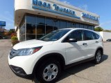 2014 White Diamond Pearl Honda CR-V LX AWD #116486920