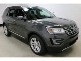 2017 Ford Explorer Limited 4WD Front 3/4 View