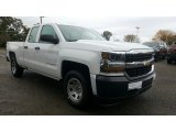 2017 Summit White Chevrolet Silverado 1500 WT Double Cab 4x4 #116511309