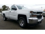 2017 Summit White Chevrolet Silverado 1500 WT Regular Cab 4x4 #116511303
