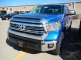 2017 Blazing Blue Pearl Toyota Tundra SR5 Double Cab 4x4 #116511514