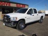 2007 Bright White Dodge Ram 1500 ST Quad Cab 4x4 #116511627