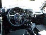 2017 Jeep Wrangler Unlimited Sport 4x4 Dashboard