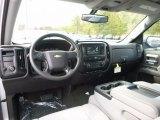 2017 Chevrolet Silverado 1500 Custom Double Cab Dark Ash/Jet Black Interior