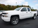 2017 Summit White Chevrolet Silverado 1500 Custom Double Cab 4x4 #116511426