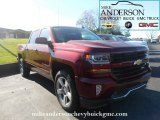 2017 Siren Red Tintcoat Chevrolet Silverado 1500 LT Crew Cab 4x4 #116554558
