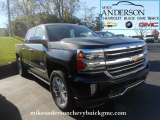 2017 Black Chevrolet Silverado 1500 High Country Crew Cab 4x4 #116554557