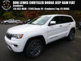 2017 Bright White Jeep Grand Cherokee Limited 4x4 #116554289