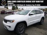 2017 Bright White Jeep Grand Cherokee Limited 4x4 #116554288