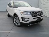 2017 White Platinum Ford Explorer XLT #116554407