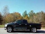 2008 Brilliant Black Crystal Pearl Dodge Ram 1500 SLT Quad Cab #116579187