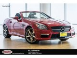 2014 Mars Red Mercedes-Benz SLK 55 AMG Roadster #116579369
