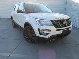 2017 White Platinum Ford Explorer XLT #116579495