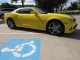 2014 Bright Yellow Chevrolet Camaro SS Coupe #116579608