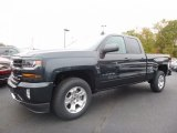 2017 Graphite Metallic Chevrolet Silverado 1500 LT Double Cab 4x4 #116611495