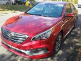 2017 Scarlet Red Hyundai Sonata Sport #116611693