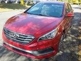 2017 Scarlet Red Hyundai Sonata Sport #116611692