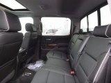 2017 Chevrolet Silverado 1500 High Country Crew Cab 4x4 Rear Seat