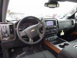 2017 Chevrolet Silverado 1500 High Country Crew Cab 4x4 High Country Jet Black/Medium Ash Gray Interior