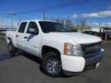 2011 Summit White Chevrolet Silverado 1500 LS Crew Cab #116611590