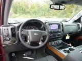 2017 Chevrolet Silverado 1500 High Country Crew Cab 4x4 Front Seat