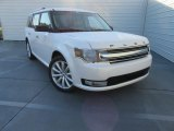 2016 White Platinum Ford Flex SEL #116611515
