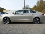 2017 White Gold Ford Fusion SE AWD #116611506