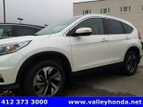 2016 White Diamond Pearl Honda CR-V Touring AWD #116633056