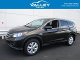 2014 Kona Coffee Metallic Honda CR-V EX AWD #116633169