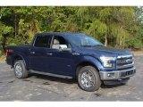 2016 Blue Jeans Ford F150 XLT SuperCrew 4x4 #116633424