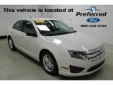 2011 White Suede Ford Fusion S #116632984