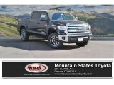 2017 Midnight Black Metallic Toyota Tundra SR5 CrewMax 4x4 #116633202