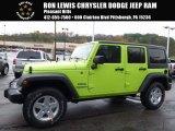 2017 Hypergreen Jeep Wrangler Unlimited Sport 4x4 #116633388