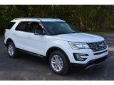2017 Oxford White Ford Explorer XLT #116633443