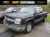 2004 Dark Gray Metallic Chevrolet Silverado 1500 LT Extended Cab 4x4 #116633261