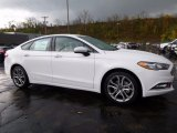 2017 Oxford White Ford Fusion SE #116665469