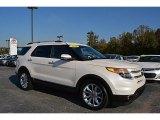 2011 White Platinum Tri-Coat Ford Explorer Limited #116665524