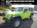 2017 Hypergreen Jeep Wrangler Unlimited Sport 4x4 #116706382