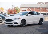 2017 Ford Fusion White Platinum