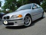 2001 Titanium Silver Metallic BMW 3 Series 330i Sedan #11659567
