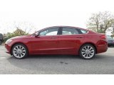 2017 Ruby Red Ford Fusion Platinum AWD #116734535