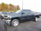 2017 Graphite Metallic Chevrolet Silverado 1500 LT Double Cab 4x4 #116734527