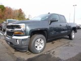 2017 Graphite Metallic Chevrolet Silverado 1500 LT Double Cab 4x4 #116734526